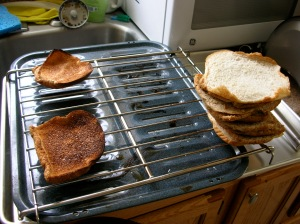 That is, incidentally, how I like my toast toasted.
